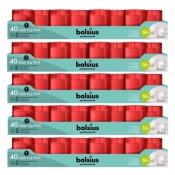 200 stuks Bolsius 16 uurs relight kaars in transparant kunststof kaarsenhouder