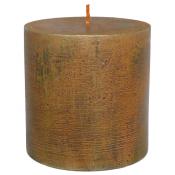 Terracotta loft rustiek stompkaars 100/100